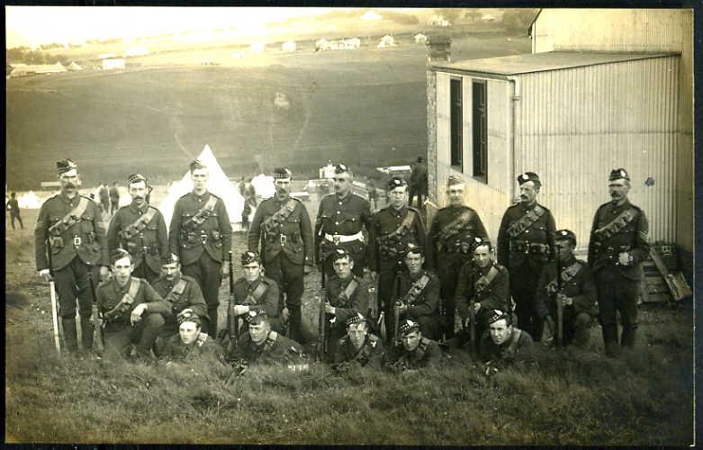 5th Bn. KOSB in JULY 1910