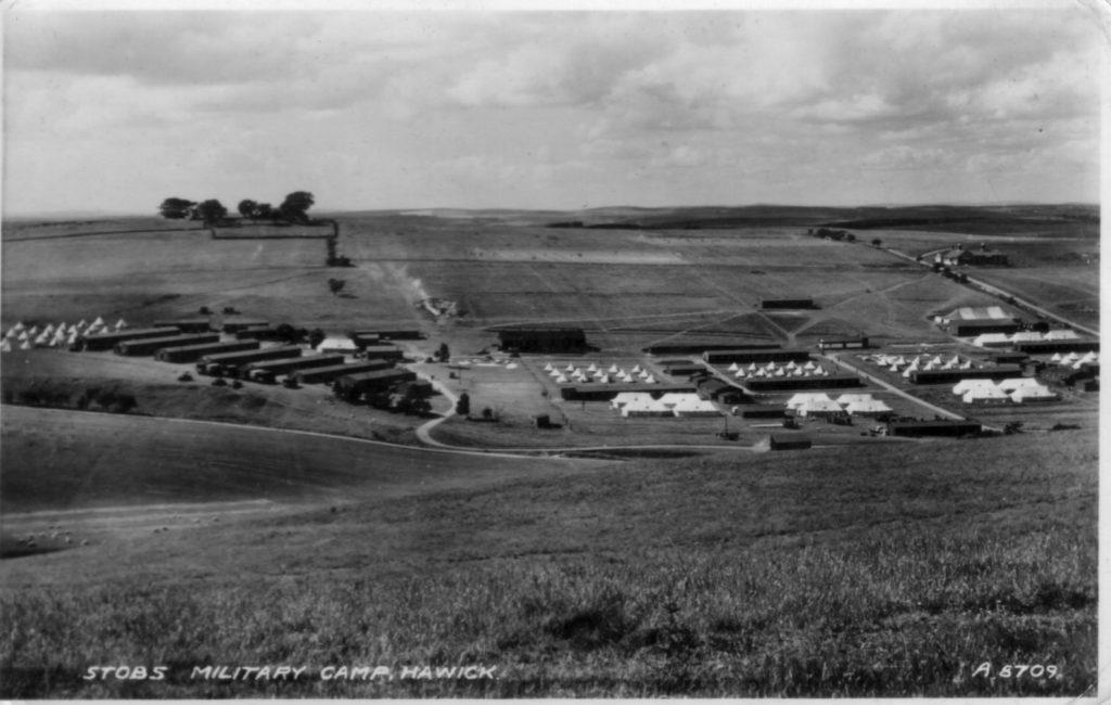 A8709 1939; Stobs; Barracks; Military Camp