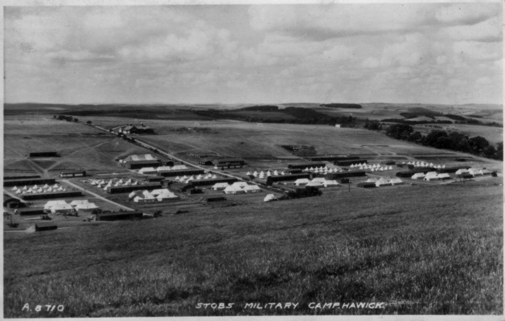 A8710 1939; Stobs; Barracks; Military Camp