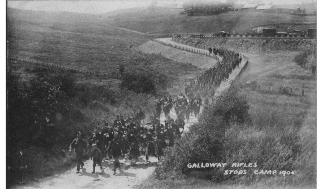 GALLOWAY RIFLES 1905