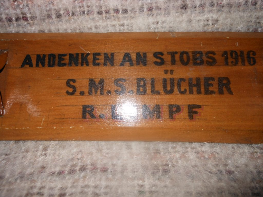 Blucher2; Wood; Handicrafts