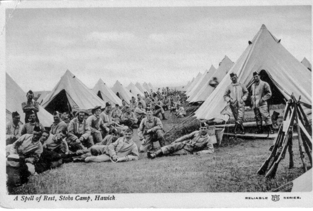 MILITARY CAMP AT STOBS