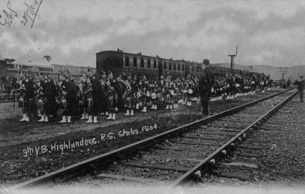 9th VOLUNTEER BATTALION (HIGHLANDERS) ROYAL SCOTS 1904
