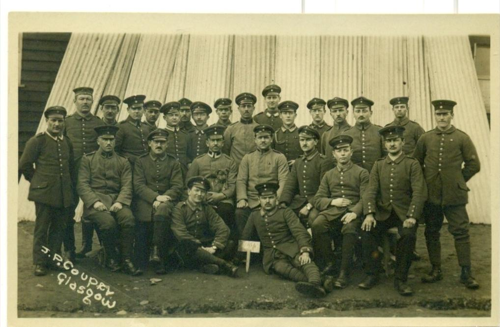 The Prisoners of Hut 56 on the 18/03/1917