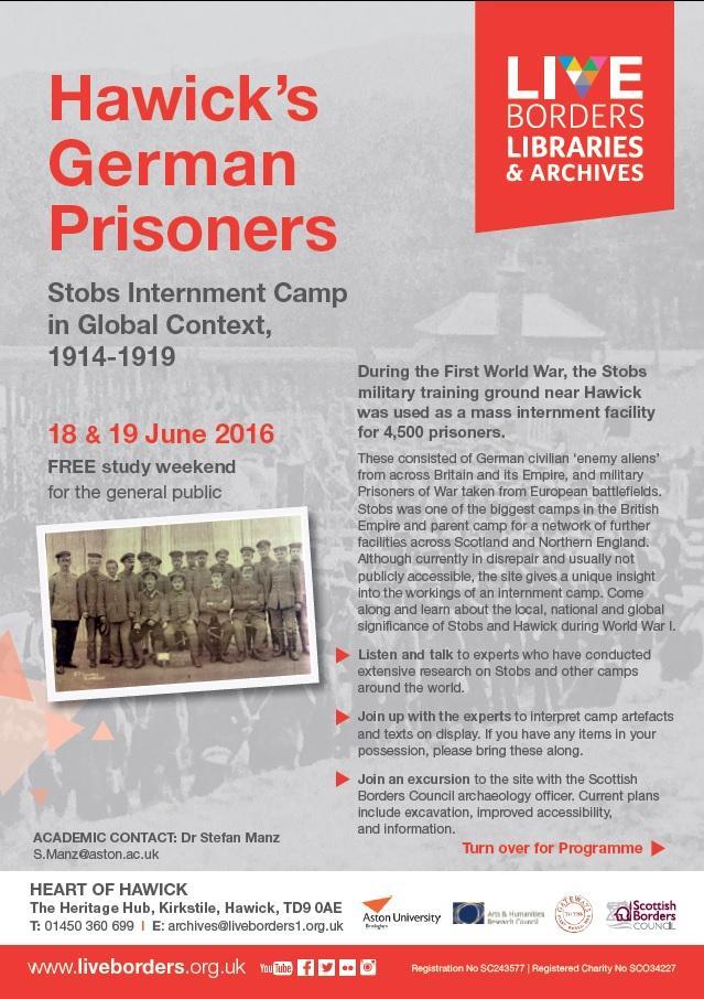 Hawick's German Prisoners study weekend